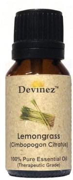 Devinez 15 2021, Lemongrass Essential Oil, 100% Pure, Natural & Undiluted