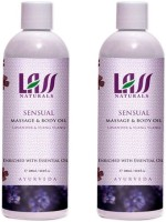 Lass Naturals Lass Naturals LASS SENSUAL MASSAGE & BODY Oil Combo ( Set Of 2 ) (200 Ml)