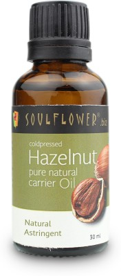 Soulflower Coldpressed Hazelnut Carrier Oil 30 ml