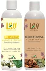 Lass Naturals Lass Naturals Recovery Massage Combo
