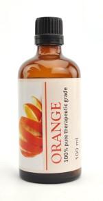 Karmakara 100% Pure Therapeutic Grade Undiluted Essential Oils In Bottles Sweet Orange