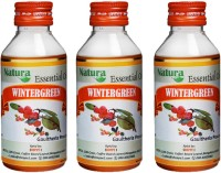 Natura Wintergreen (Gaultheria Procumbens) Natural Essential Oil Pack Of 3 (300 Ml)