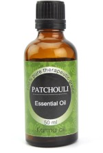 Karmakara 100% Pure Therapeutic Grade Undiluted Essential Oils in Bottles Patchouli Oil