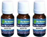 Avi Naturals Neem Oil(Pack Of 3) (90 Ml)
