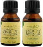 Olfa Lemongrass Essential Oil & Tea Tree Essential Oil Combo 15ml+15ml