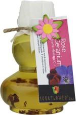 Soulflower Rose Geranium Aroma Massage Oil