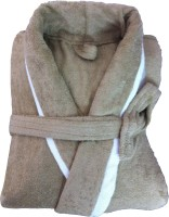 CKT Beige Free Size Bath Robe Bath Robe, For: Men, Beige