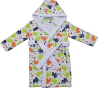 Just For Kids By Bhavik White XS Bath Robe (1 Pcs Bathrobe, For: Baby Boys & Baby Girls, White)