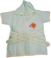 Kandy Floss Green Medium Bath Robe (Bath Robe, For: Baby Boys, Green)