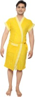 VeenaDdesigner Yellow, Yellow Free Size Bath Robe 1 Bath Robe, For: Men, Yellow, Yellow