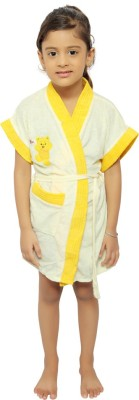 VeenaDdesigner Yellow XL Bath Robe
