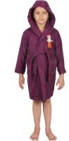 Trident Purple Free Size Bath Robe (Bath Robe, For: Baby Boys, Baby Girls, Purple)