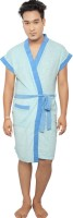 VeenaDdesigner Light Blue, Blue Free Size Bath Robe 1 Bath Robe, For: Men, Light Blue, Blue - BRBECK3SSSN3GZX2