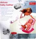 KidsZone Deluxe Baby Bath Seat - Pink, White