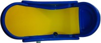 BKM&SONS Baby Bath Seat Baby Bath Seat (Blue, Yellow, Color May Vary)
