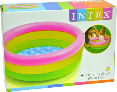 intex kids inflatable air chair pink best price in india. Black Bedroom Furniture Sets. Home Design Ideas