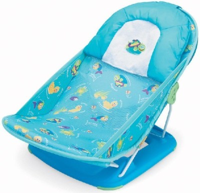 Honey Bee Bather Baby Bath Seat (White Blue)