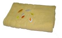 Gran Bath Towel Cotton Bath Towel (1 Bath Towel, Yellow)