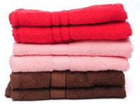 The Home Story Red, Pink, Brown Set Of 6 Napkins - NAPEBGHYJHSWFMZA