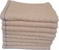 Divine Overseas Cotton Hand Towel Set 8 Pieces Premium Hand Towel, Ivory