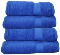 Sovam International Cotton Bath Towel (bath Towel, Dark Blue)