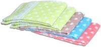 ShopSince Cotton Hand Towel ShopSince Multicolor Geometrical Cotton Hand Towels Set Of 5, Multicolor