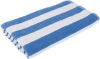 Indigo Hometex Contemporary Blended, Cotton Bath Towel (Bath Towel, White, Blue)