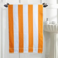 JBG Home Store Stripes Cotton Bath Towel 1 Bath Towel, Multicolor