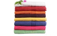 Trident Everyday Cotton Bath Towel Set 8 Bath Towels, Multicolor