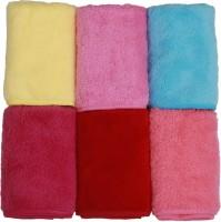 Klair Cotton Face Towel Set Face Towel Set Of 6, Multicolor - BTWEKM3YMHRFP6W6