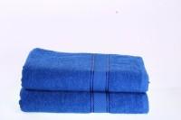 Shoppingtara Soft Cotton 100% Cotton, Bath Towel Set (2 Bath Towel, Blue)