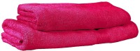 Trident Cotton Set Of Towels 1 Bath Towel, 1 Lady Bath Towel, Pink