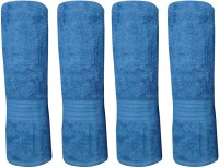 Bombay Dyeing Cotton Bath Towel Set 4 PCS CAR TOWEL SET EXTRA LARGE SIZE, LAGOON