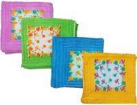 Mikado Face Towels Cotton Face Towel 8 Face Towels, 2 Pieces Of Each Colour, Multicolor