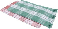 Suam Cotton Bath Towel Pack Of 2 Bath Towel, Pink, Green