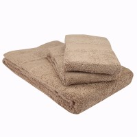 Mark Home Cotton Bath & Hand Towel Set Bath & Hand Towel Set, Beige