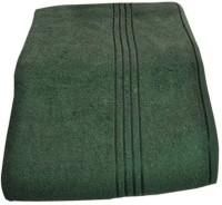 Bajya Cotton Bath Towel (1 Bath Towel, Dark Green)