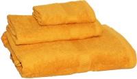 Welhome Cotton Set Of Towels, Bath Towel, Hand Towel, Face Towel Bath Towel, Hand Towel, Face Towel, Gold