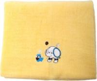 Belle Maison Cotton Baby Towel (Kids Bath Towel, Yellow)
