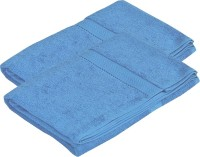 Pipal Cotton Set Of Towels 2 Bath Towels, Blue