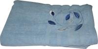 Gran Bath Towel Cotton Bath Towel (1 Bath Towel, Blue)