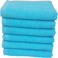 Divine Overseas Cotton Hand Towel Set 6 Pieces Premium Hand Towel6 Pieces Premium Hand Towel6 Pieces Premium Hand Towel6 Pieces Premium Hand Towel6 Pieces Premium Hand Towel, Turquoise