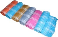 Apr Brand Cotton Bath Towel 6 Multicolor Bath Towel, Blue, Dark Blue, Green, Dark Green, Orange, Yellow