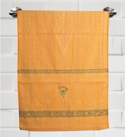 Fantasy Home Decor Nature Cotton Bath Towel Bath Towel, Orange