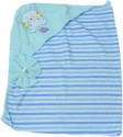 Advance Baby Bear Print Hooded Lining Print Bath Towel