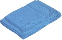 Pipal Shrome Cotton Set Of Towels 2 Bath Towels, Blue