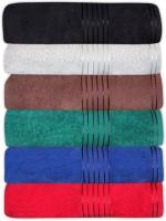 GRJ INDIA Cotton Bath Towel Set Of 6 Bath Towels, Multicolor