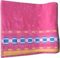 Trendy Home Cotton Bath Towel One Bath Towel, Pink