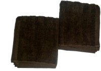 Style Home Cotton Hand Towel Sets Of 2 Hand Towel, Brown