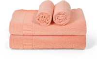 Cortina Cotton Bath & Hand Towel Set 2PC Hand Towel Set, 2PC Bath Towel Set, Beige